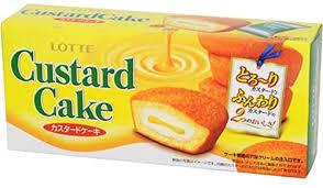 ロッテ『カスタードケーキ』6個入り
